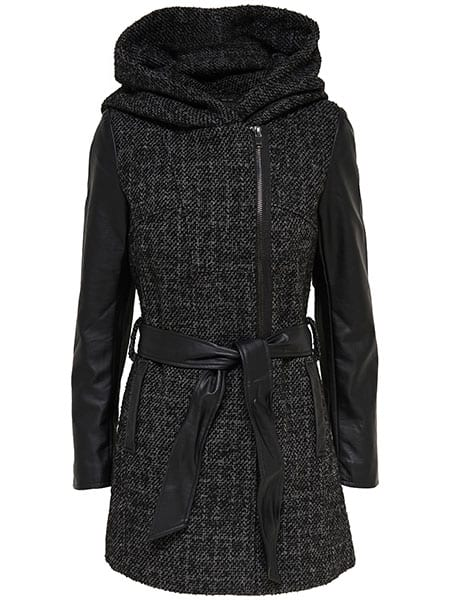 only new bradford boucle wool coat