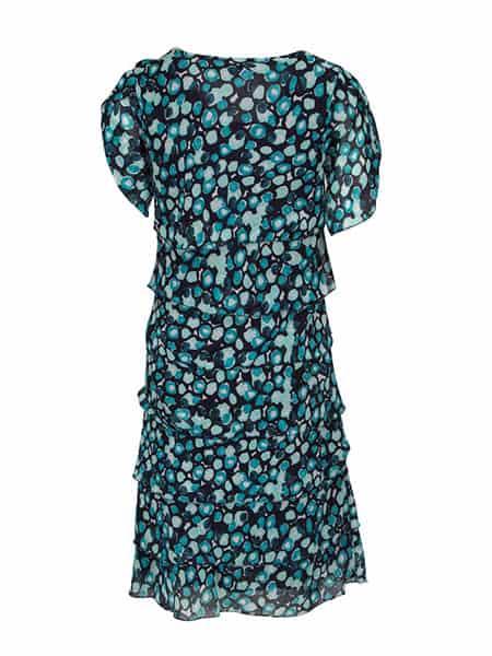 signature chiffong klänning