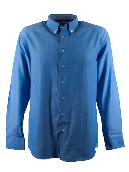 fathers & friends skjorta blå