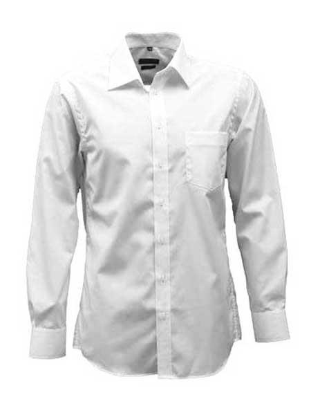 erla bomull skjorta vit